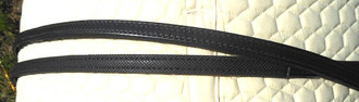 Soft Pimple Grip Reins w/Leather Ends & Stops; Brown; 3 Lengths (replacements for Jerry's Harness)