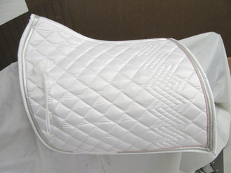 Equilibrio Dressage Pad in White
