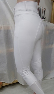 Angelina Breech w/Full Silicone Seat in White