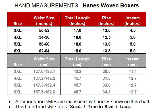 Hanes Woven Boxers 3 Pack Underwear Plaids 6xl 817a