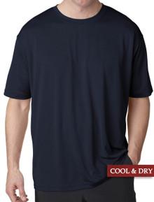 UltraClub Cool-n-Dry Performance T-Shirt Navy 3XL 4XL 5XL #1192
