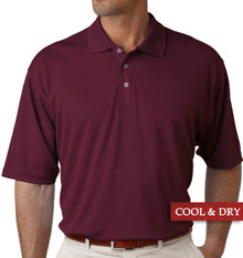 Big & Tall Men's UltraClub Cool-n-Dry Polo Burgundy