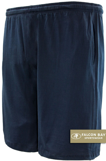 Navy Falcon Bay Cotton Jersey Shorts