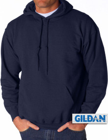 Gildan Pullover Hoodie Navy 3XL 4XL 5XL #370