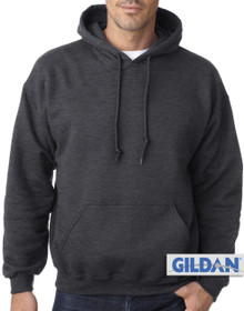 Gildan Pullover Hoodie Charcoal 3XL 4XL #418