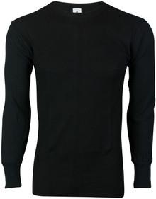 men big and tall thermal black shirt