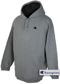 plus size mens clothing Gray 5X Hoodie