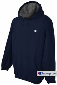 plus size mens clothing Navy 5X Hoodie