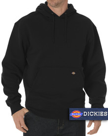 Black pullover sweatshirt for big & tall