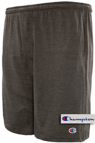 Dark Gray Champion Lightweight Cotton Jersey SHORTS
