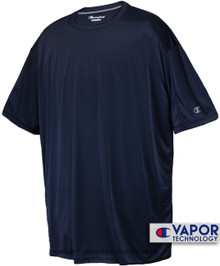 Champion Vapor Tech Athletic T-Shirt 6XL 3XLT Navy #680B