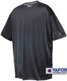 Tall Men's Champion Vapor Tech Athletic T-Shirt Dark Gray full image