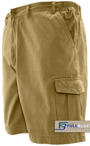 Khaki Cargo shorts Full Blue