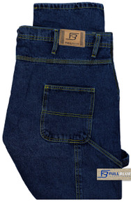 Big Men's Carpenter Denim Jeans Dark Wash - Gallery