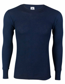 Navy Thermal Long Johns Underwear SHIRT
