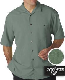 mens xl clothing Olive Cabana Shirt 5X