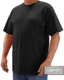 Black NewportXL Short Sleeve T-Shirt