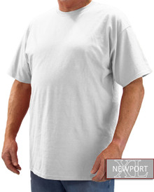 White NewportXL Short Sleeve T-Shirt