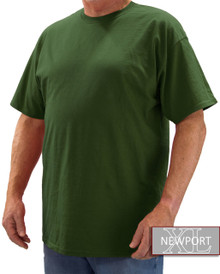 Dark Green NewportXL Short Sleeve T-Shirt