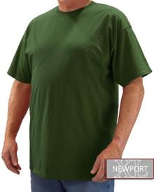 Dark Green NewportXL Short Sleeve T-Shirt