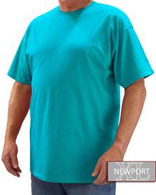 Bright Blue NewportXL Short Sleeve T-Shirt