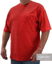 Heather Red NewportXL Short Sleeve T-Shirt