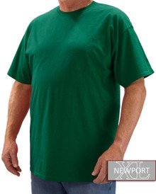 Teal Green NewportXL Short Sleeve T-Shirt