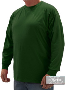 Dark Green NewportXL LONG SLEEVE T-Shirt