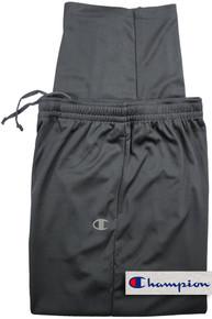 Big Men's charcoal gray track pants Champion