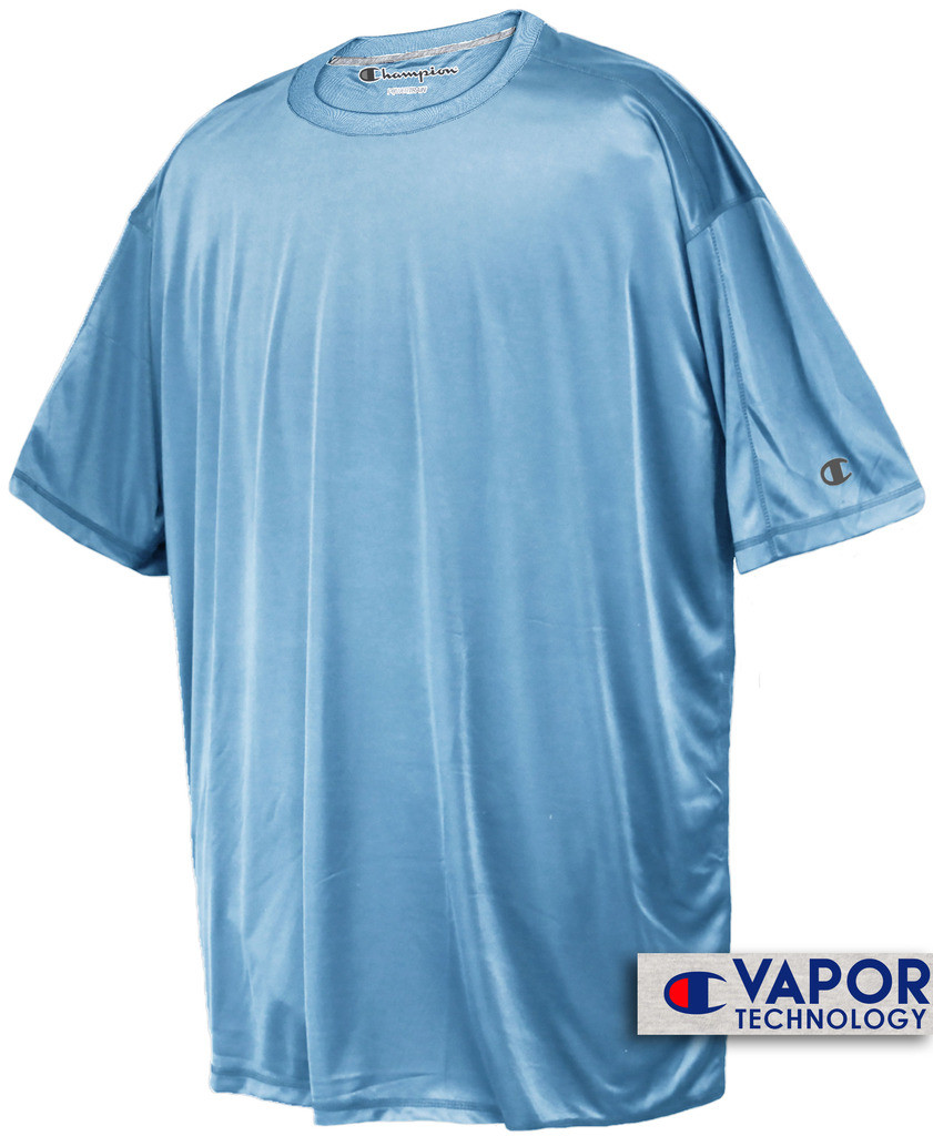 1fbc94d84 Light Blue Champion Vapor Tech Athletic T-Shirt. Image 2. Image 3. See 2  more pictures