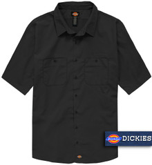 Black Dickies Lightweight WorkTech Ventilated Shirt
