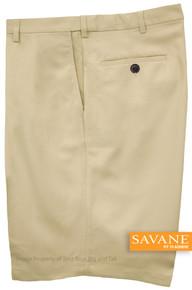 Sand Savane Microfiber Casual Shorts Expandable Waistband
