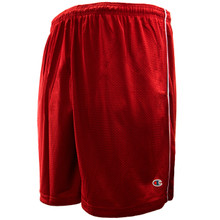 Champion burgundy mesh shorts