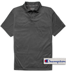 Dark Gray Champion Performance Polo Shirt