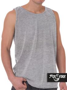 Gray Foxfire Loose Fit Tank Top
