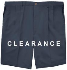 Haggar PLEATED Casual Shorts NAVY