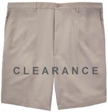 Haggar Flat Front Casual Shorts LIGHT KHAKI