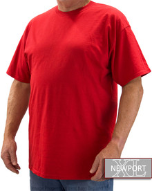 NewportXL Short Sleeve T-Shirt BRIGHT RED
