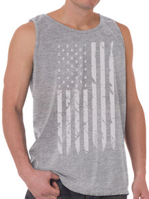 Foxfire GRAY FLAG Printed Tank Top GRAY