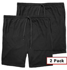 Black shorts Falcon Bay Jersey Shorts Outside Drawstring