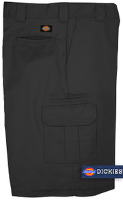 Dickies Black cargo work shorts