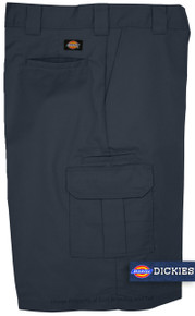 Dickies Navy Blue cargo work shorts
