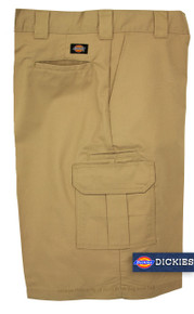 Dickies Khaki cargo work shorts