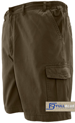 Brown cargo shorts by full blue
