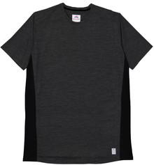 Elite Sport Color Block Performanc T-Shirt BLACK