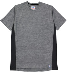 Elite Sport Color Block Performanc T-Shirt GRAY