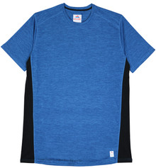 Elite Sport Color Block Performanc T-Shirt ROYAL