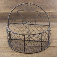 Primitive Star Wire Half Basket