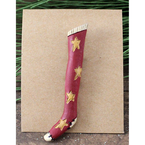 Skinny Stocking Christmas Pin