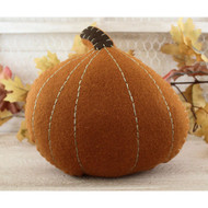 Decorative Wool Pumpkin Accent Pillow
